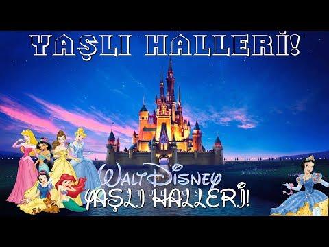 Disney Prensesleri Yaşlı Halleri!