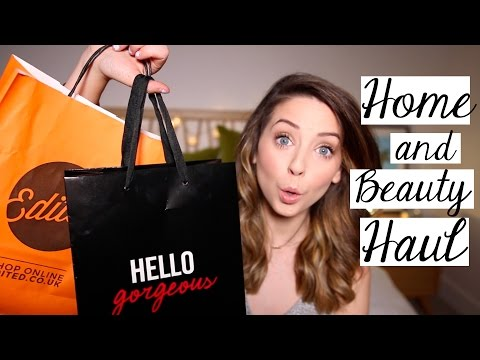 Beauty & Homeware Haul   Zoella