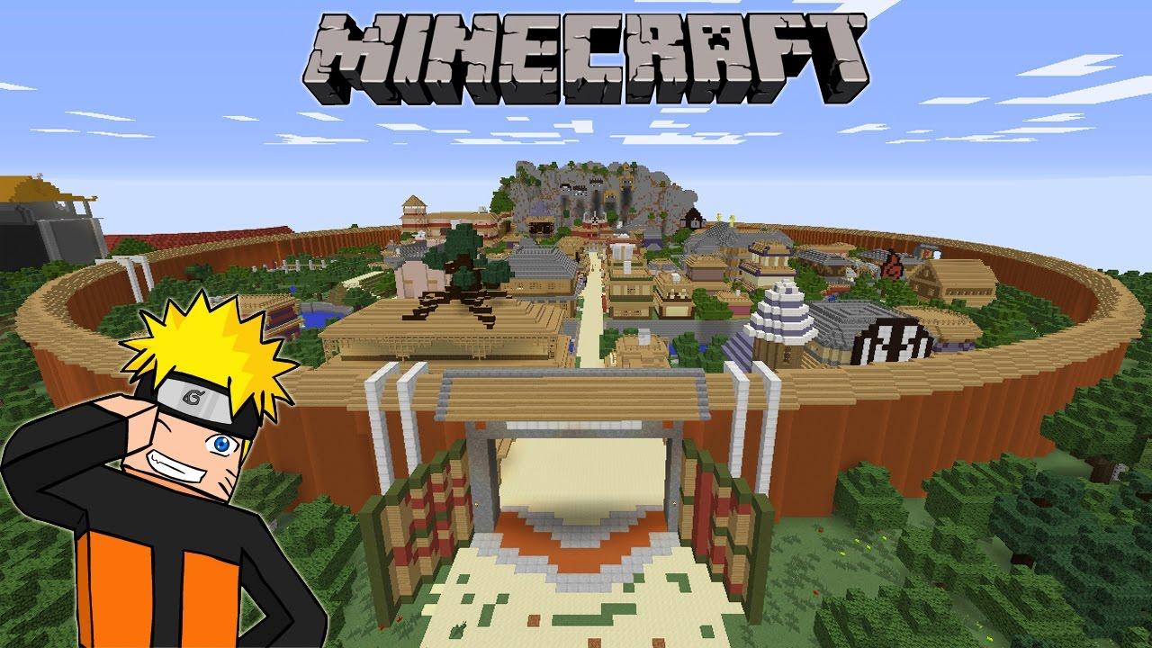DESA KONOHA versi Minecraft