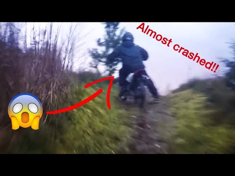Pit bike and dirt bike adventures part 1
