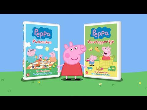 Peppa Pig Nederlands   Seizoen 1 Op DVD!   Tekenfilm   Peppa De Big