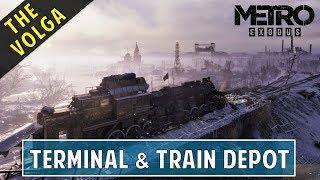 Get Railcar & Tow Passenger Car | The Terminal & Train Depot | The Volga | Metro Exodus