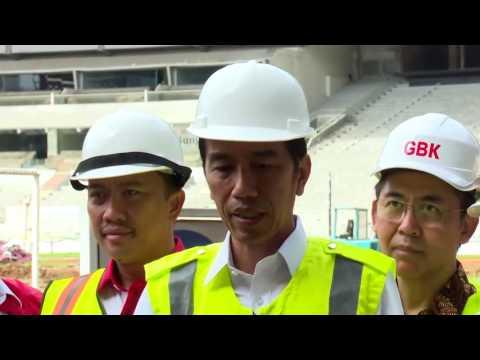 Peninjauan Persiapan Venue Asian Games 2018, Jakarta, 2 Desember 2016