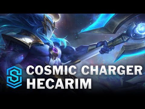 Cosmic Charger Hecarim Skin Spotlight - League of Legends