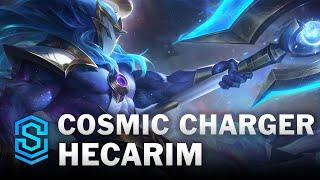 Cosmic Charger Hecarim Skin Spotlight - League of Legends