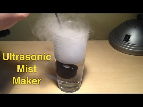Easy Homemade Ultrasonic Humidifier for Less Than 10$: 3 Steps