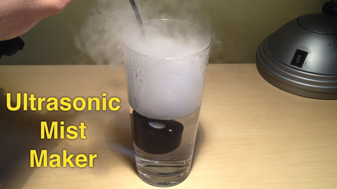 Ultrasonic mist maker / fogger module for homemade humidifier