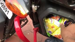 Honda navi utility box