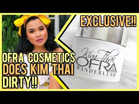OFRA COSMETICS DOES KIM THAI DIRTY! ⎮ EXCLUSIVE RECEIPTS INCLUDED!