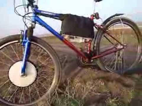 Электровелосипед - после