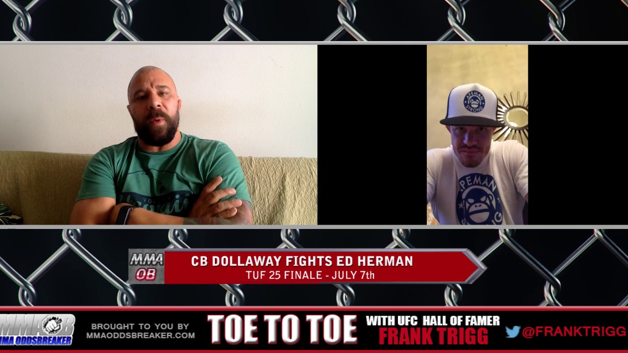 Frank Trigg pre-fight interview with TUF 25 Finale's C.B. Dollaway