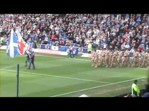 45 Commando At Ibrox - Rangers Vs Hearts