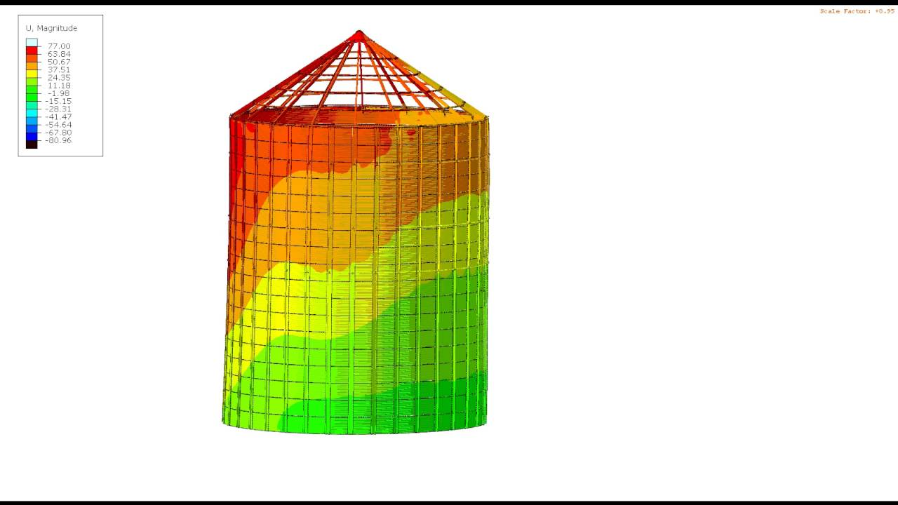 abaqus earthquake modeling