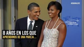 Barack y Michelle: 8 años de amor, lecciones e inspiración