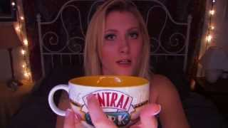 Time Travel Tuesday: Friends TV Show - ASMR - Soft Spoken, Whisper, Drinking Tea, Ceramic Tapping Travel Video