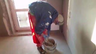 """Приколы на стройке! Первый день на работе, подсобник """"90 уровня"""")))"""