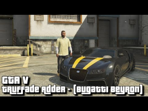 gta v truffade adder bugatti veyron location fastest car in the game youtube. Black Bedroom Furniture Sets. Home Design Ideas