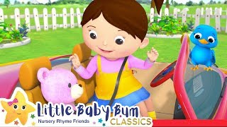 Driving in My Car Song +More Nursery Rhymes and Kids Songs - ABCs and 123s | Little Baby Bum