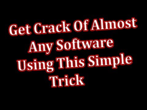 How To Find Crack/Patch Of Almost Any Software With A Simple Technique || 2017