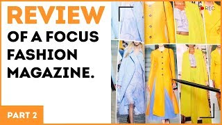 Review of a Focus fashion magazine. Part 2