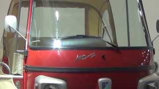 Piaggio Ape Calessino at 12th Auto Expo 2014 The Motor Show Greater Noida