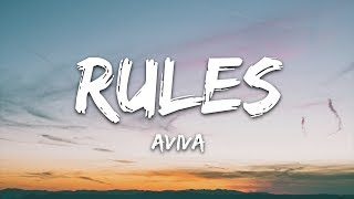 AViVA - RULES (Lyrics)