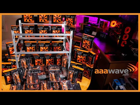 Aaawave 12 GPU Sluice Mining Frame Build And Review | Aaawave Fans