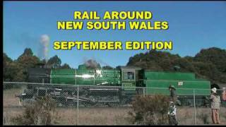 Rail Around New South Wales - September 2010 PART 1