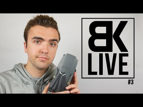 """BK LIVE - Is The Mavic Pro Still The """"Best"""" Drone in 2018?"""