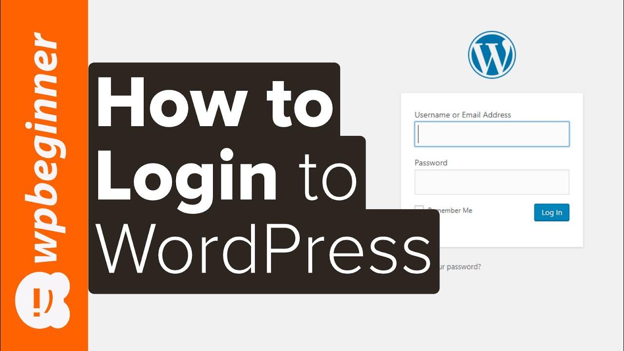 Beginner's Guide: How to Find Your WordPress Login URL