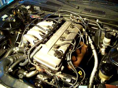 240sx first proper start after installing used ka24de youtube rh youtube com s13 ka24de wiring harness ka24de engine harness
