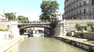 CANAL DE LA ROBINE EN BATEAU NARBONNE