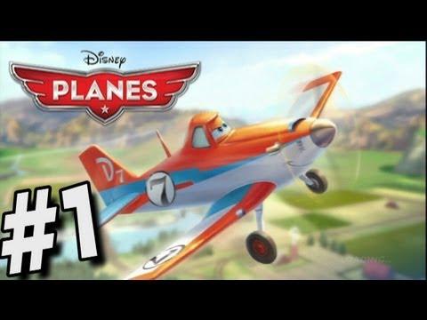 Disney Planes Walkthrough - Disney Planes The Video Game - Part 1 Dusty Is Rusty!