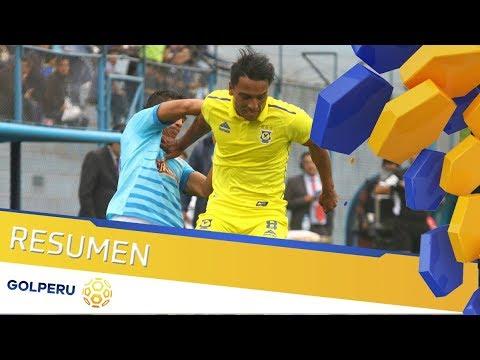Sporting Cristal 2-2 Comerciantes Unidos