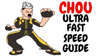 CHOU | Ultra Fast Speed Guide #18 | Shinmen Takezo | Mobile Legends