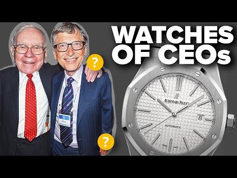 Watches Of CEOs & Famous Business Executives Part II (Bill Gates, Warren Buffett, & More)