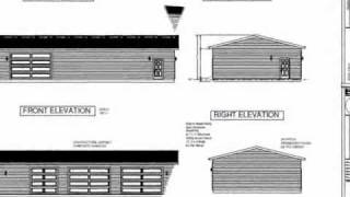 #g464 30' X 60' X10' Workshop Garage Plan