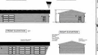 #g464 30' X 60' X10' Workshop Garage Plan