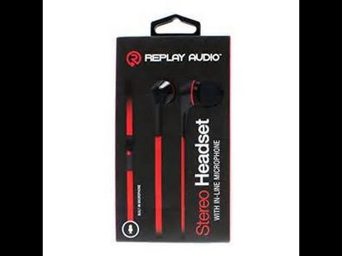 32a7b894469 Unboxing Replay Audio stereo headset - YouTube