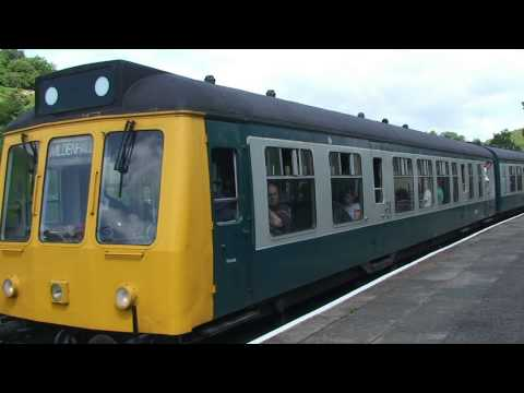 Llangollen Railway 2014 D.M.U. gala