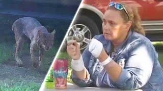 Grandma Protects Georgia Family by Strangling Rabid Bobcat