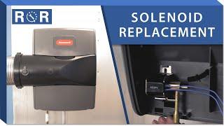 Humidifier Solenoid: Repair and Replace (Honeywell TrueEASE)