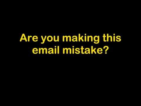 Stop Making this English Email Mistake Today!