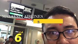Malaysia Airlines MH 731 BWN to KUL (Bandar Seri Begawan to Kuala Lumpur)