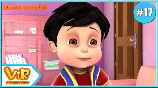 Vir: The Robot Boy In English | Robot Vir | 3D Action Cartoon For Kids | Wow World