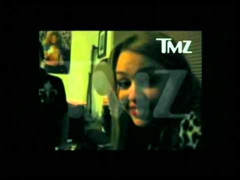 Miley Cyrus Takes A Bong Hit Of Salvia