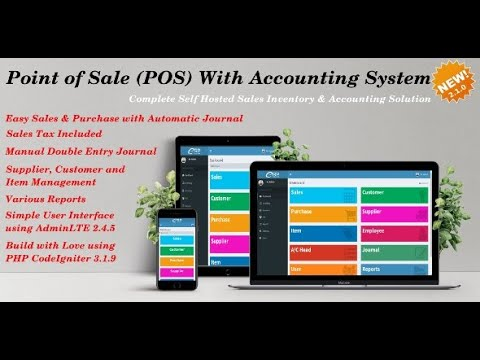 Sale Pro Point Of Sale PHP Software