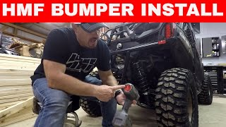 HMF BUMPER INSTALL ON CAN AM MAVERICK TRAIL