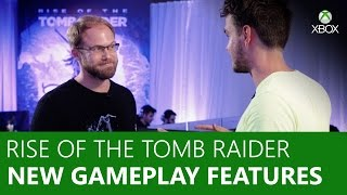 Rise of the Tomb Raider - New Gameplay Features | Xbox On