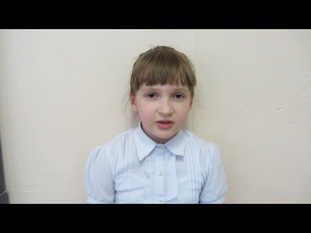 Изображение предпросмотра прочтения – АнгелинаКаштанова читает произведение «Мальчик из села Поповка» С.Я.Маршака